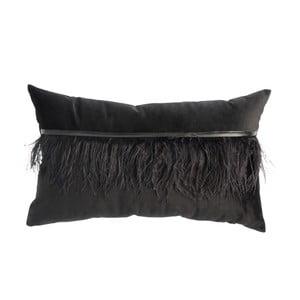 Czarna poduszka z pierza J-Line