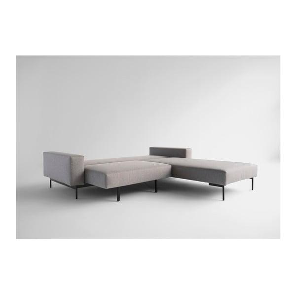 Brązowoszara sofa rozkładana Innovation Bragi