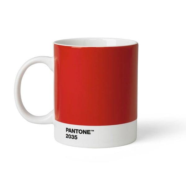 Czerwony kubek Pantone 2035, 375 ml