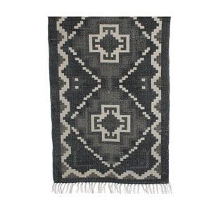 Czarno-beżowy dywan Mica Wiki, 120x170cm
