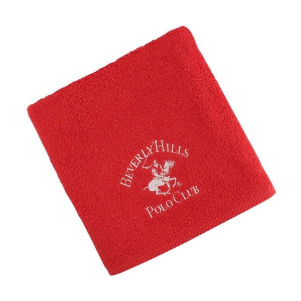 Ręcznik bawełniany BHPC 50x100 cm, czerwony