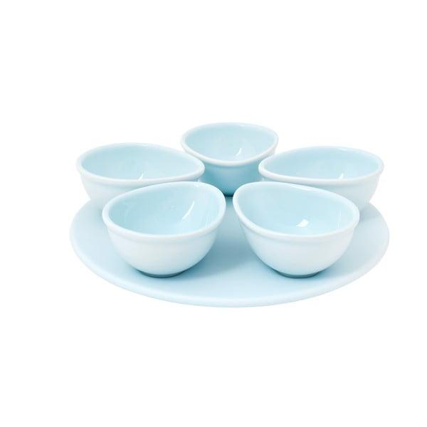 Zestaw 5 misek Nigelli Lawson Appetiser Blue