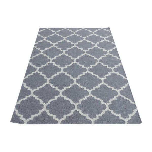 Szary dywan wełniany Bakero Elizabeth, 200x140cm