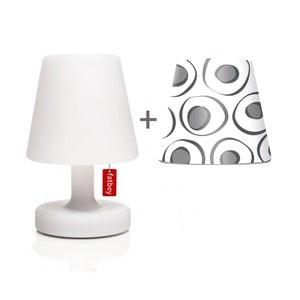 Lampa Fatboy Edison Petit, 25 cm + klosz Mr. Grey