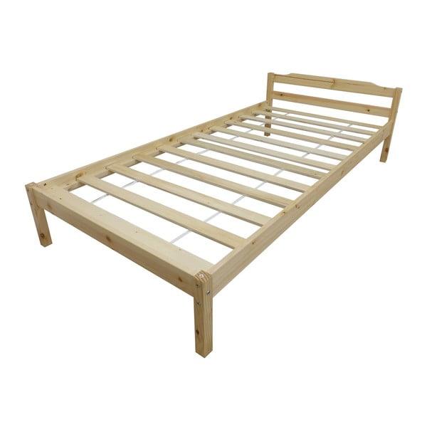 Łóżko Levi Pine, 198x97x65 cm
