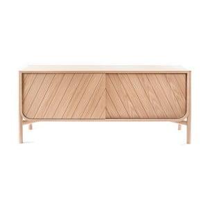 Szafka pod TV z drewna dębowego HARTÔMarius, szer.155cm