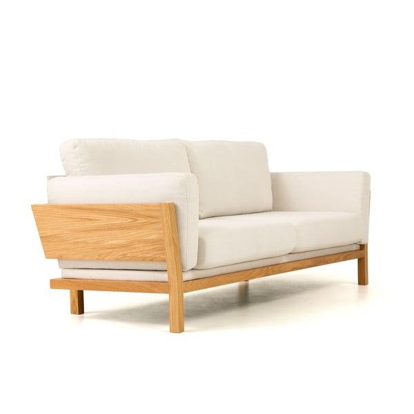 Biała sofa Woodman Lanza