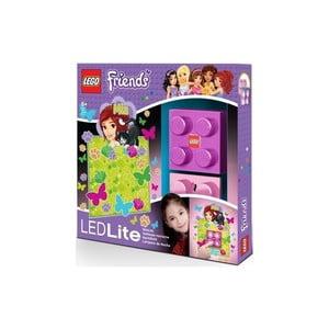 Dziecięca lampka ścienna LEGO Friends Mia