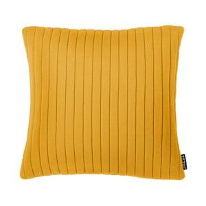 Żółta poduszka ZicZac Comrad, 45x45 cm