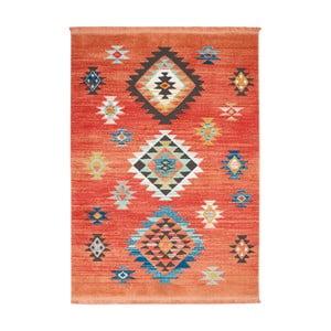 Dywan Nourison Navajo Red, 130x66 cm