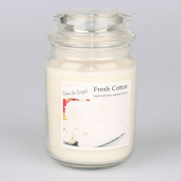 Świeczka zapachowa o zapachu bawełny Dakls