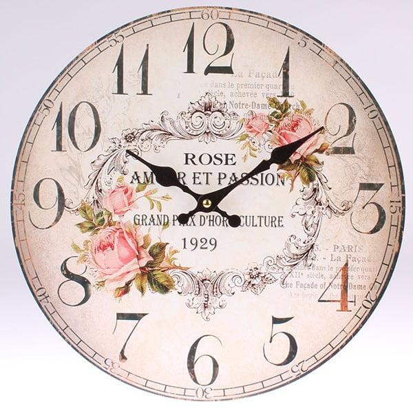Drewniany zegar Rose 1929