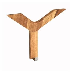 Wieszak z drewna dębowego Folke Yhog