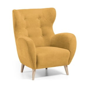 Żółty fotel La Forma Passo