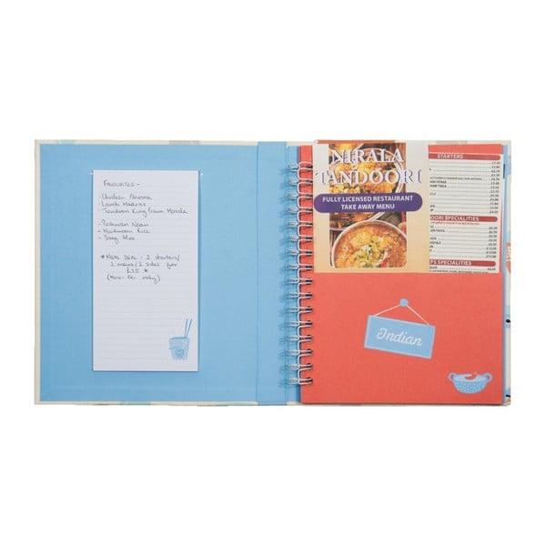Segregator   na przepisy kulinarne Busy B Takeaway Menu