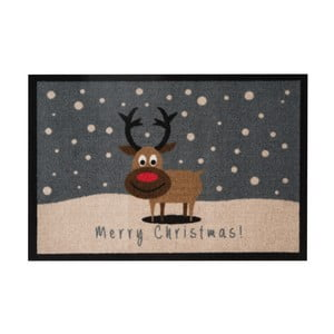 Wycieraczka Hans Home Merry Christmas Reindeer, 40x60 cm