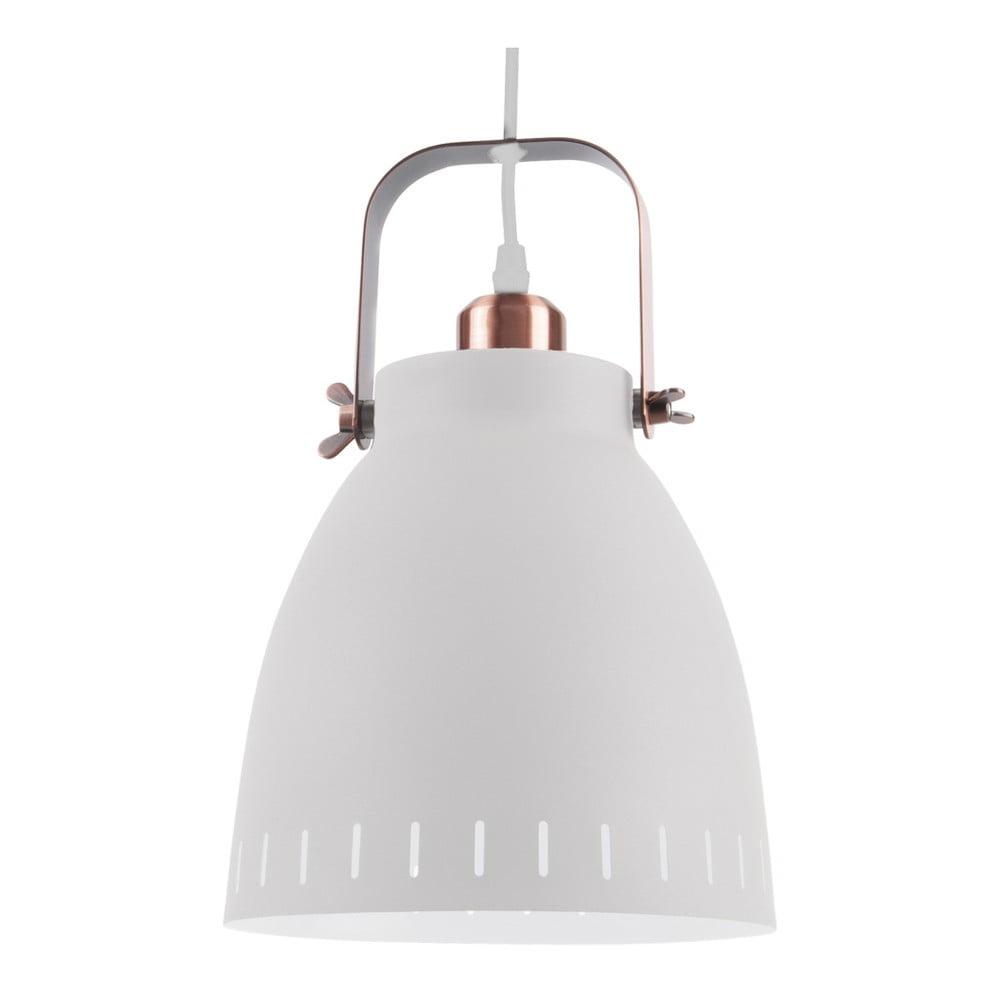 Duża biała lampa wisząca Leitmotiv Mingle