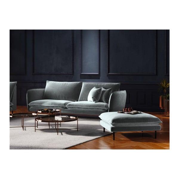 Jasnoszara 4-osobowa sofa Cosmopolitan Design Vienna
