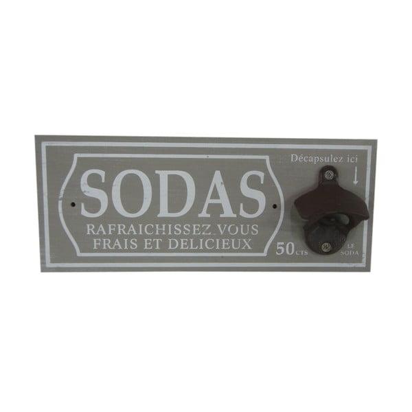 Naścienny otwieracz do butelek Sodas
