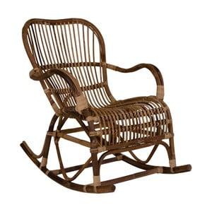 Rattanowy fotel na biegunach House Nordic Celta