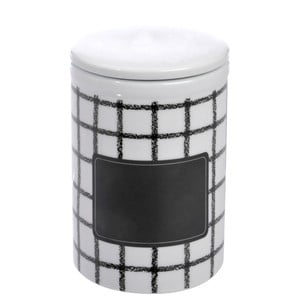 Porcelanowy pojemnik B&W, 21 cm