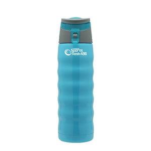 Niebieska butelka sportowa Pioneer, 480 ml