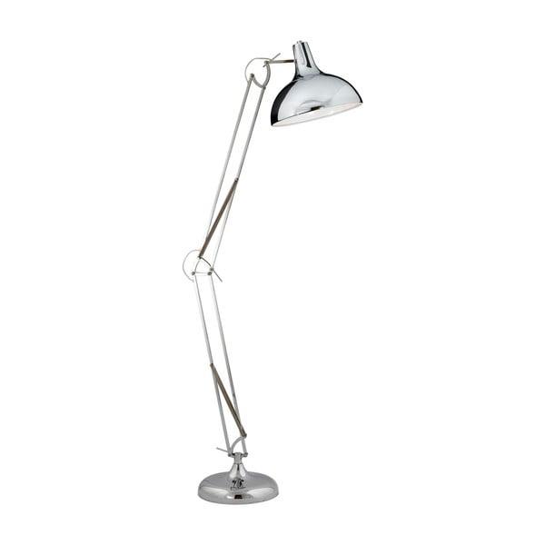 Lampa stojąca Searchlight Goliath, srebrna
