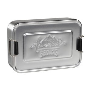 Śniadaniówka Silver Tin