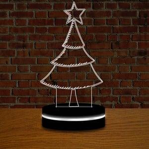 Lampa z efektem 3D Christmas no. 6