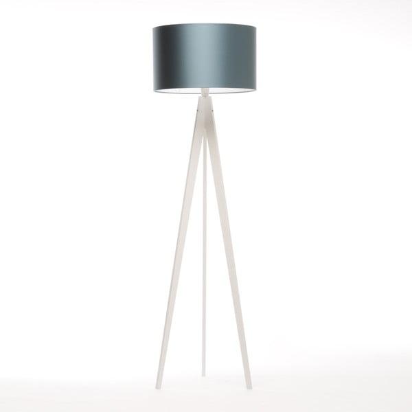 Lampa stojąca Artist Ice Blue/White Birch, 125x42 cm