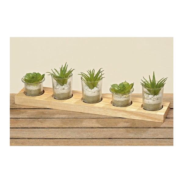 Zestaw roślin sztucznych
