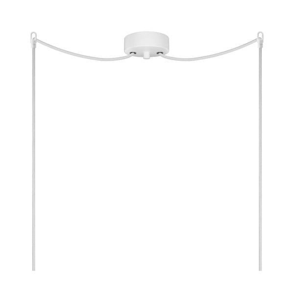 Lampa podwójna UME Elementary, opal glossy/white/white