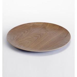Drewniana taca i blat do stolika Range, ciemne drewno