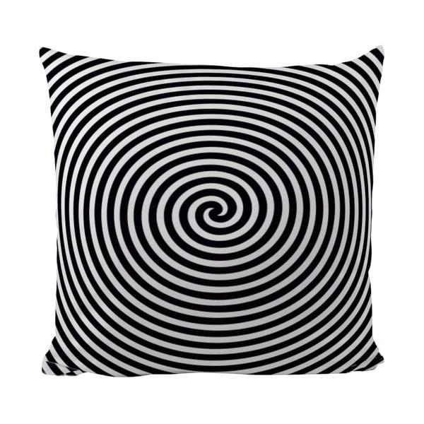 Poduszka Black Shake Circle Hypnosis, 50x50 cm