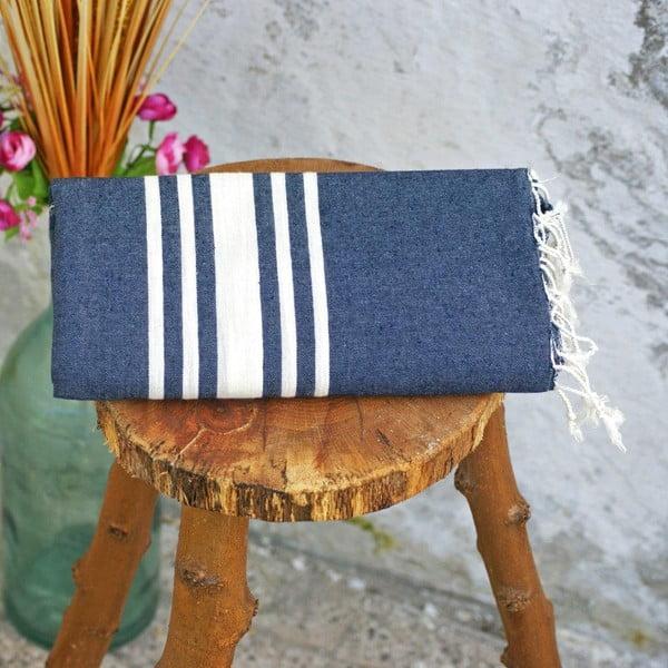 Ręcznik hamam Sea Denim, 100x180 cm