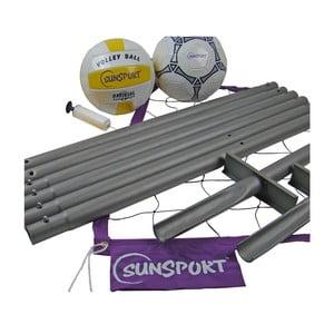 Zestaw do gry w siatkówkę/siatkonogę Sunsport