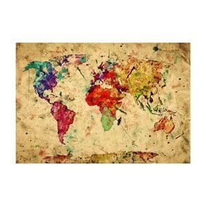 Dywan winylowy World, 52x75 cm
