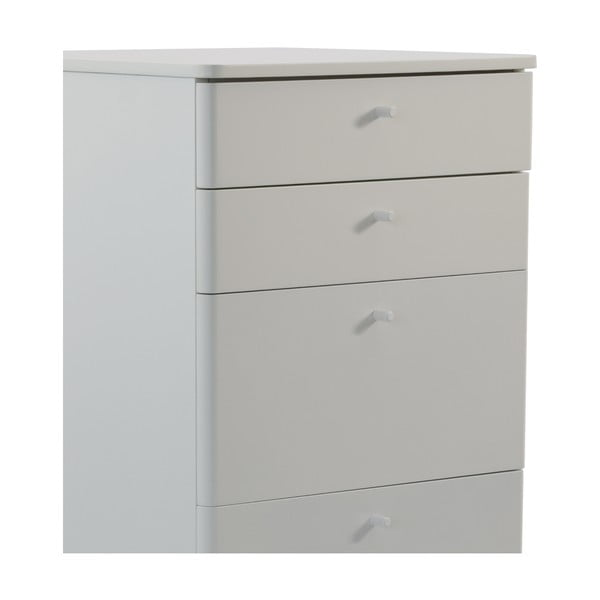 Biała szafka Niles, 87x40 cm