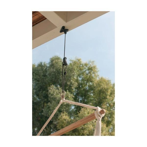 Uniwersalny system do zamontowania krzesła-hamaka (na drzewo i do sufitu)