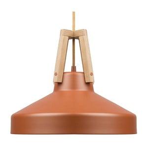 Karmelowa lampa wisząca Loft You Work, 44 cm