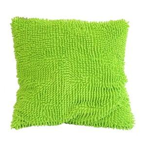 Kosmata poduszka, zielona