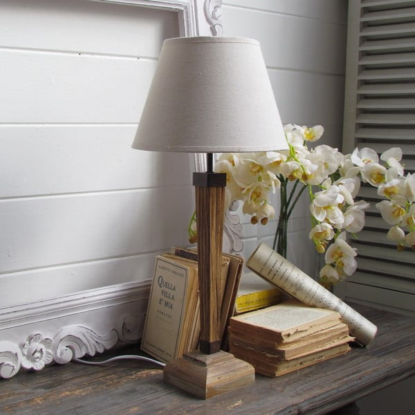 Lampa stołowa Fusion White