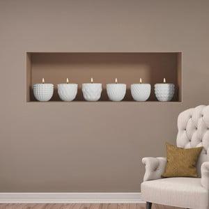 Naklejka na ścianę 3D Ambiance Candles