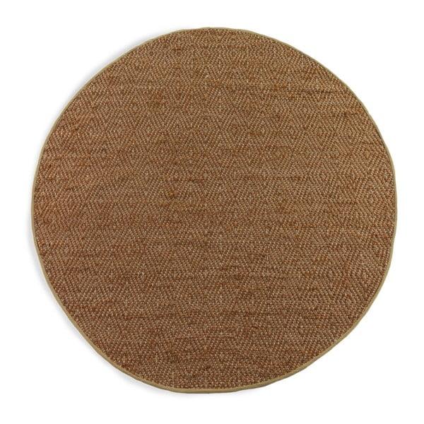 Brązowy dywan Geese Maine, Ø 180 cm