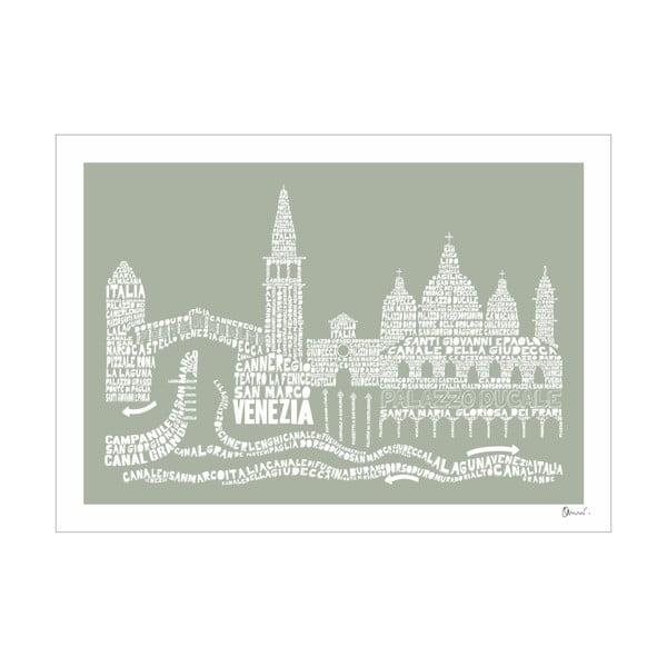 Plakat Venezia Grey&Grey, 50x70 cm