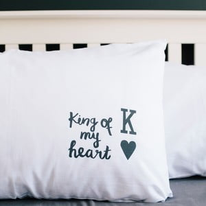 Poszewka na poduszkę King Of My Heart, 50x70 cm