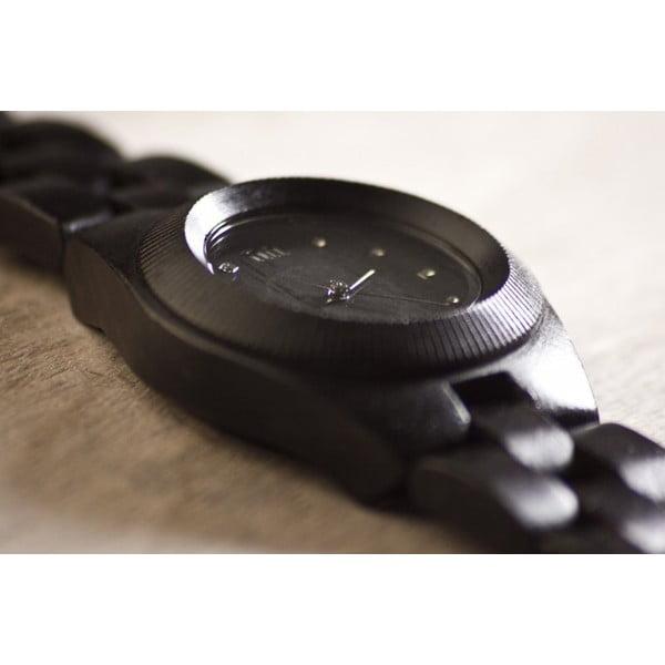 Drewniany zegarek damski Odyssey Black