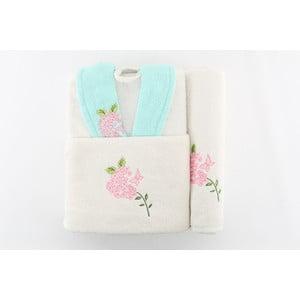Zestaw szlafrok i 2 ręczniki Sobie Mint