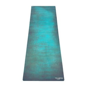 Mata do   jogi Yoga Design Lab Combo Mat Aegean Green, 1,8 kg