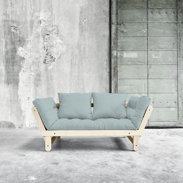 Sofa rozkładana Beat Natural/Sky Blue